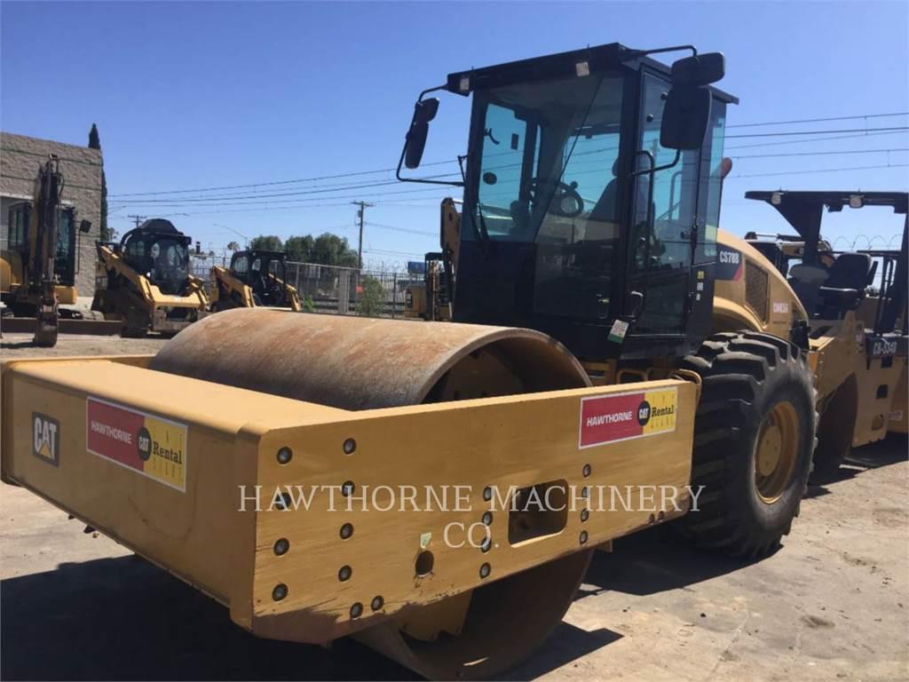 Caterpillar CS78B SM, Compactadores, Construcción