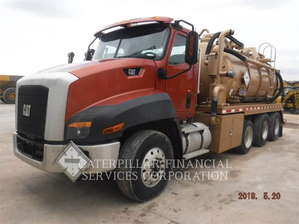 Caterpillar CT660S, camiones de carreter, Transporte