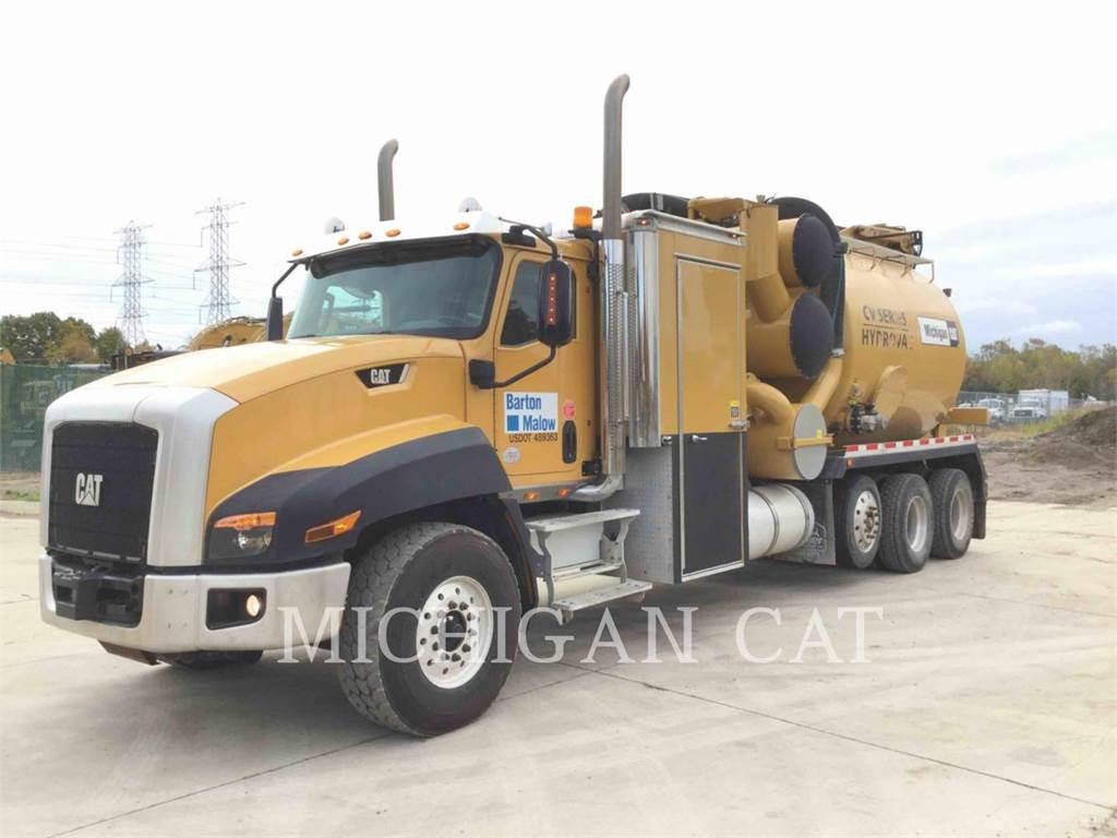 Caterpillar CT660S VAC, on highway trucks, Transport