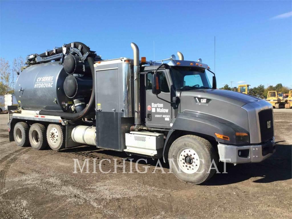 Caterpillar CT660S VAC, camiones de carreter, Transporte