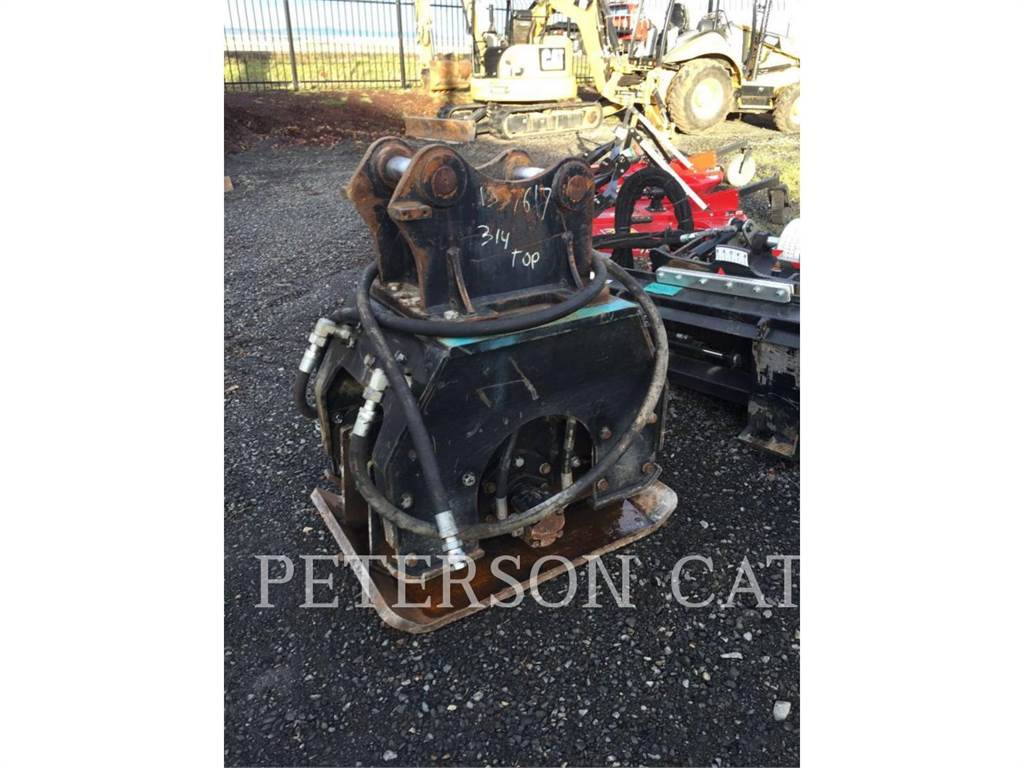 Caterpillar CVP75 312, Compactadoras de residuos, Construcción