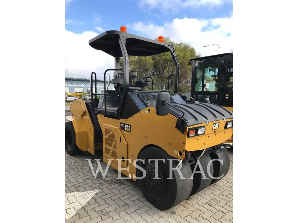Caterpillar CW12, pneumatic tired compactors, Construction