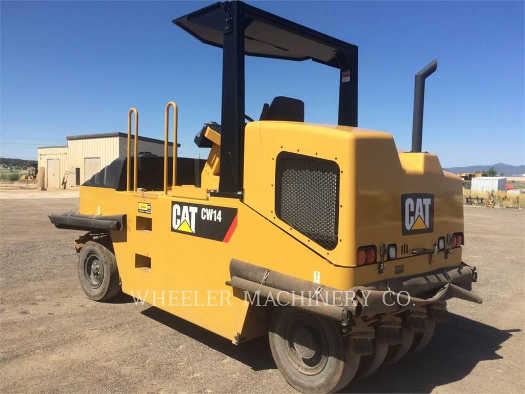 Caterpillar CW14, pneumatic tired compactors, Construction