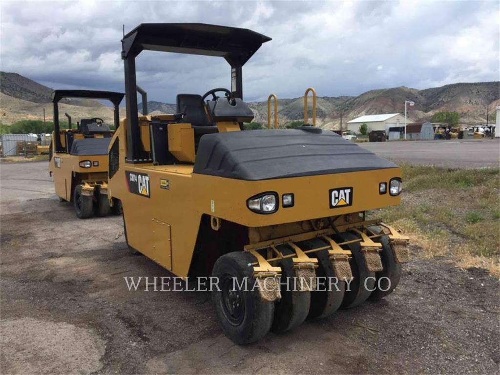 Caterpillar CW14, compactoare pneumatice anvelope, Constructii