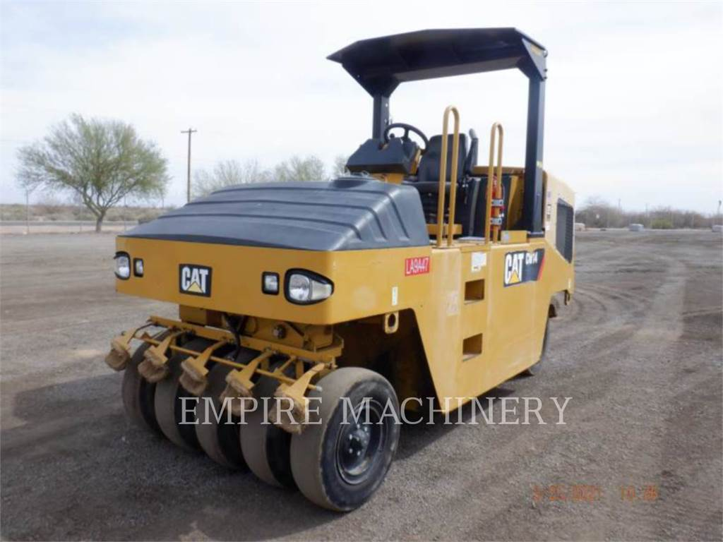 Caterpillar CW14, compacteurs sur pneus, Équipement De Construction