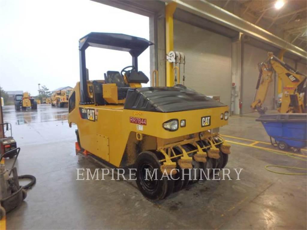 Caterpillar CW14, compactadores con ruedas de neumáticos, Construcción