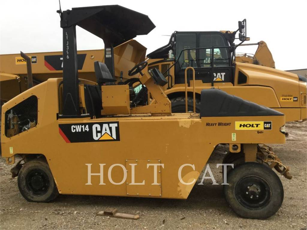 Caterpillar CW14 HW, Single drum rollers, Construction