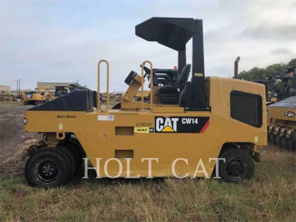 Caterpillar CW14 HW, Single drum rollers, Construction