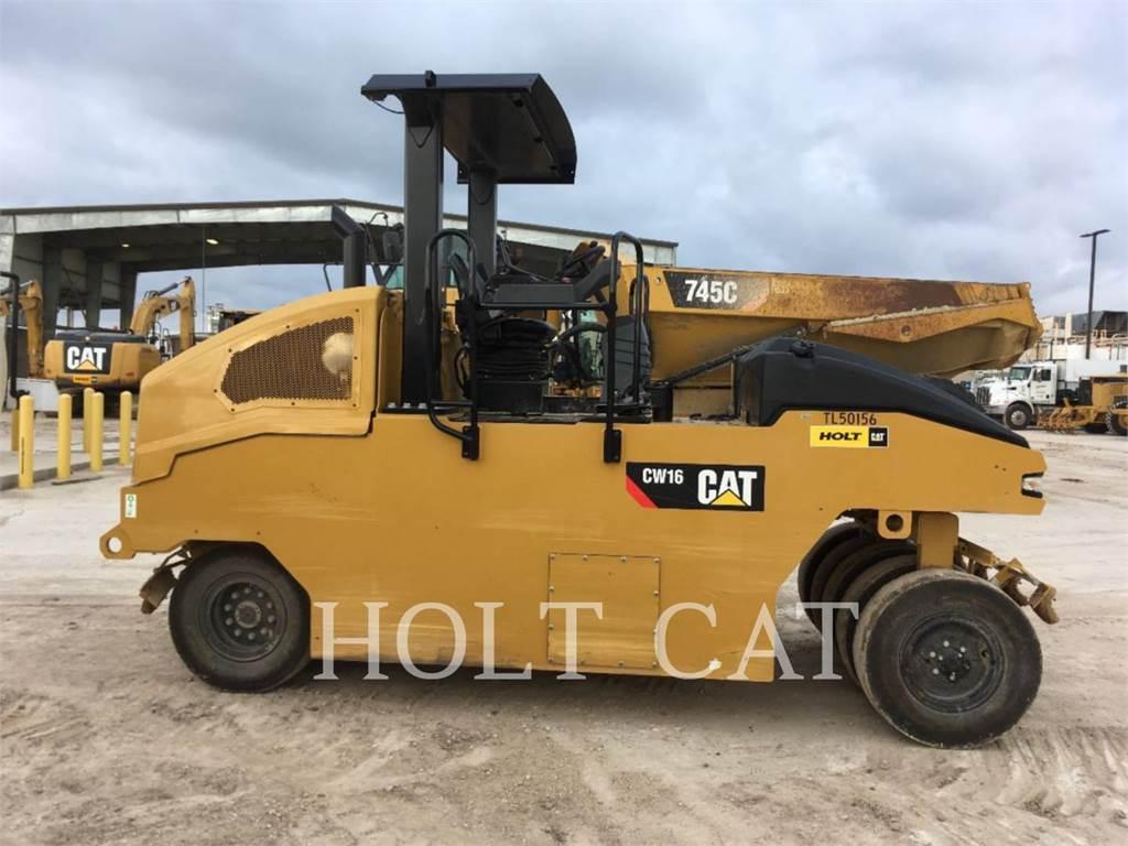 Caterpillar CW16、单轮压路机、建筑设备