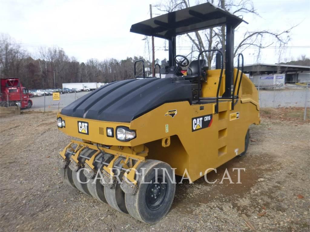 Caterpillar CW16, Compactadores, Construcción