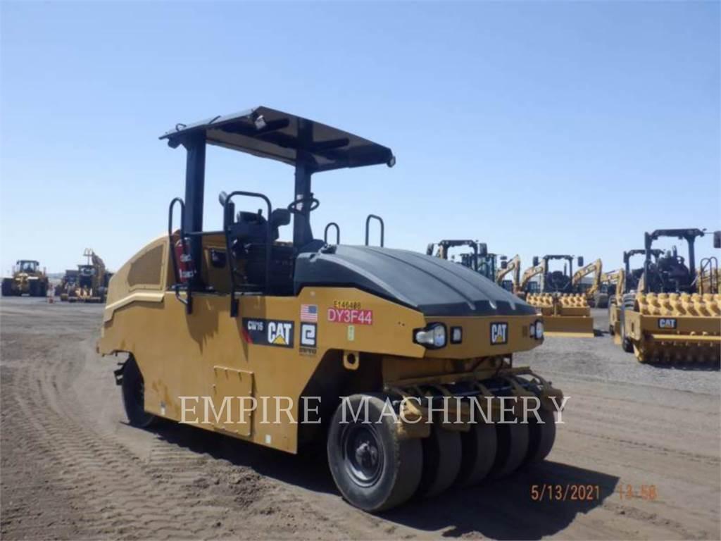 Caterpillar CW16, compacteurs sur pneus, Équipement De Construction