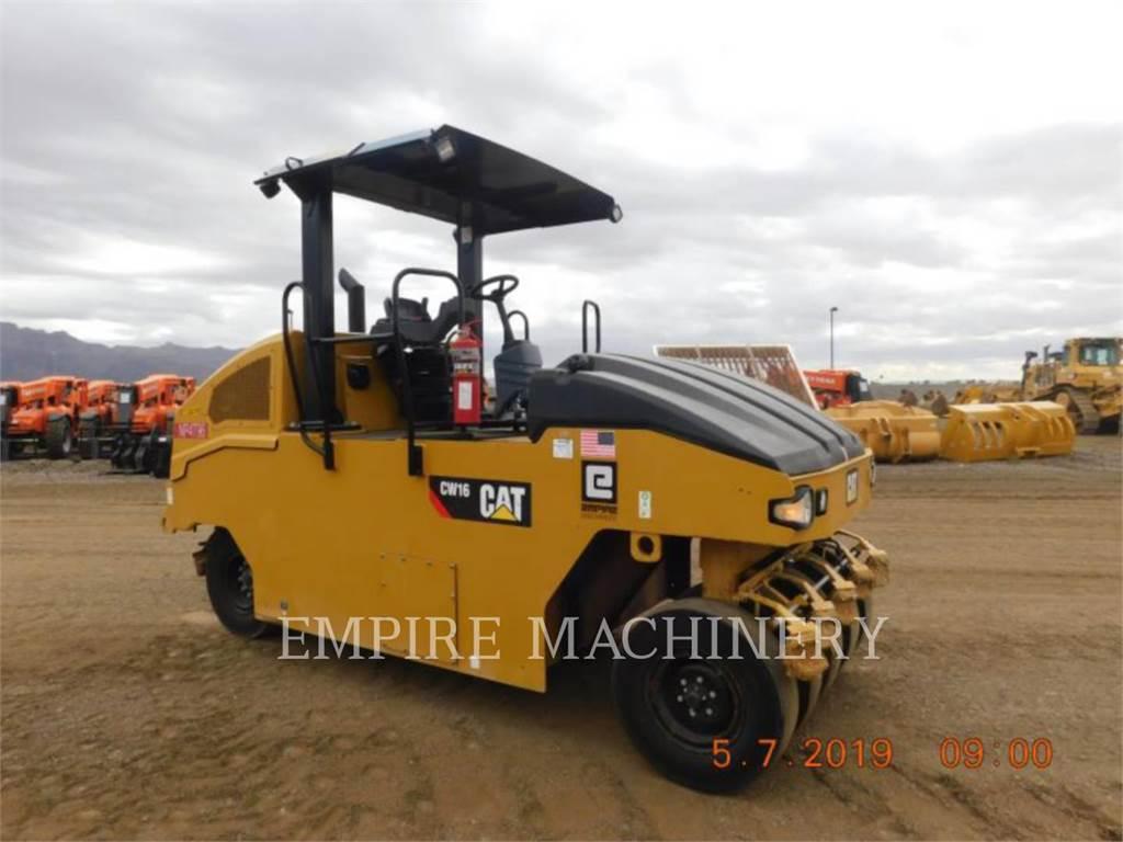 Caterpillar CW16, compactadores con ruedas de neumáticos, Construcción