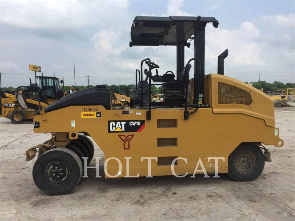 Caterpillar CW16 HW, Single drum rollers, Construction
