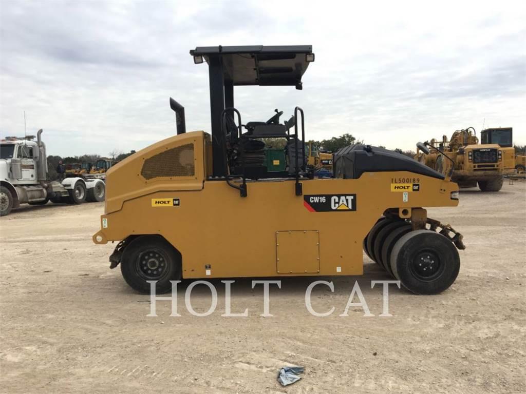 Caterpillar CW16 HW, Rouleaux monocylindre, Équipement De Construction