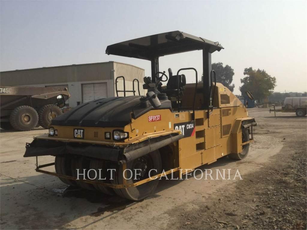 Caterpillar CW34、沥青摊铺机、建筑设备
