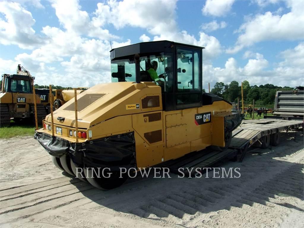 Caterpillar CW34, Rouleaux tandem, Équipement De Construction