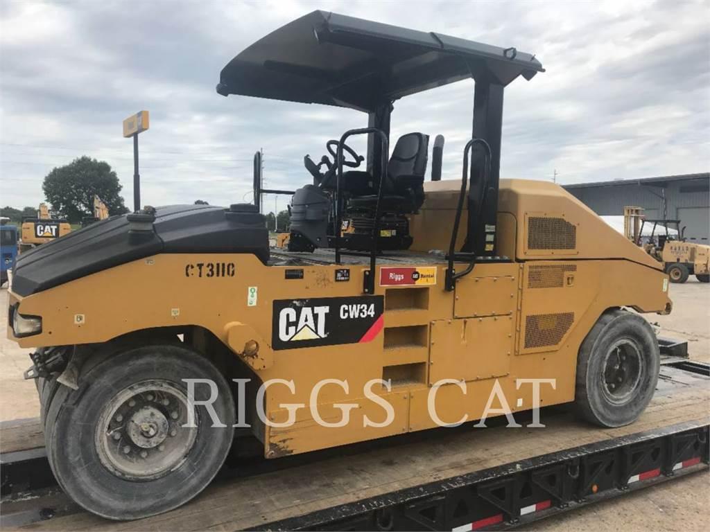 Caterpillar CW34、土壤压实机、建筑设备
