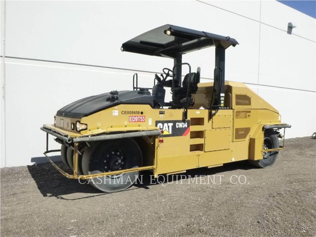 Caterpillar CW34, Opryskiwacze do asfaltu, Sprzęt budowlany