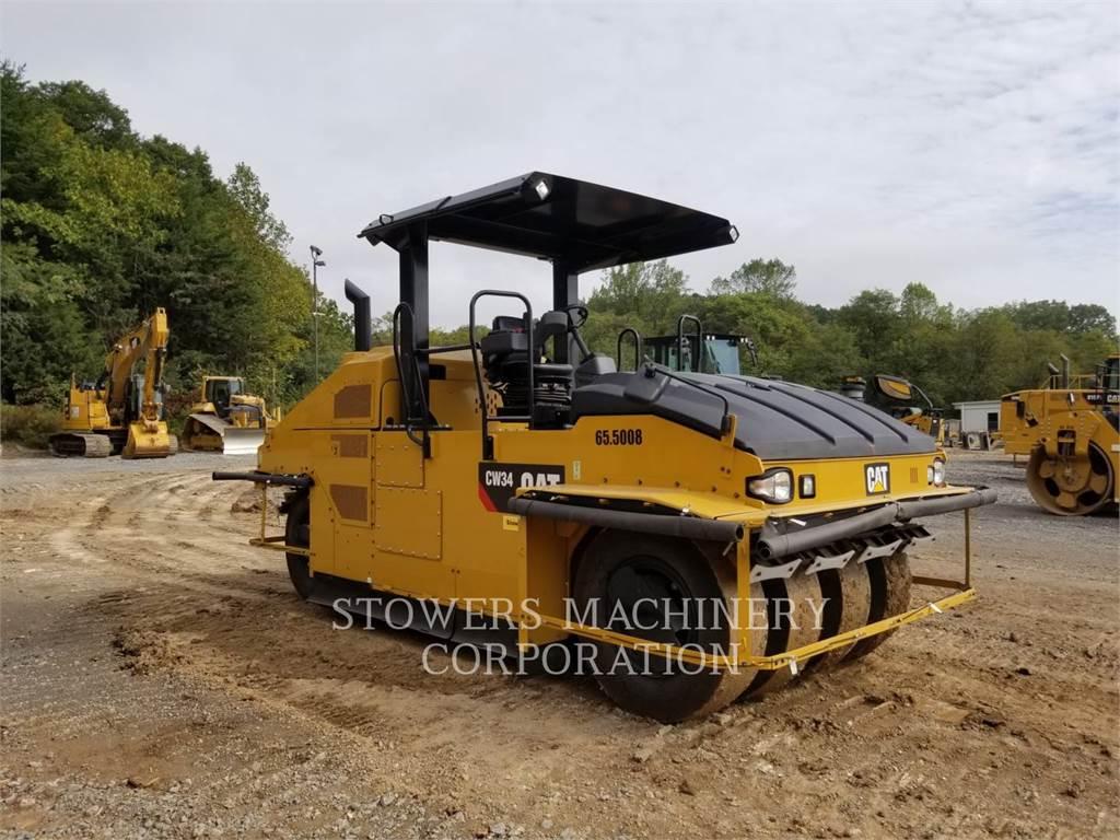 Caterpillar CW34, Compactadores, Equipamentos Construção