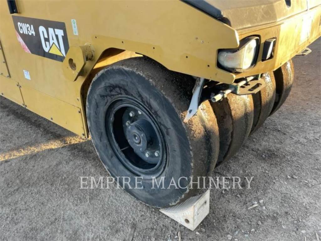 Caterpillar CW34, compactadores con ruedas de neumáticos, Construcción