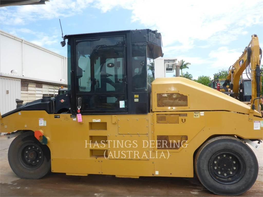 Caterpillar CW34LRC, pneumatic tired compactors, Construction