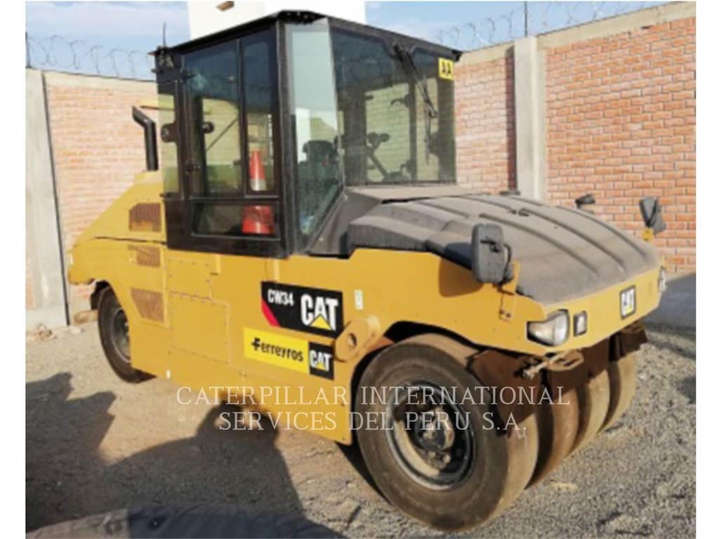 Caterpillar CW34LRC, compacteurs sur pneus, Équipement De Construction