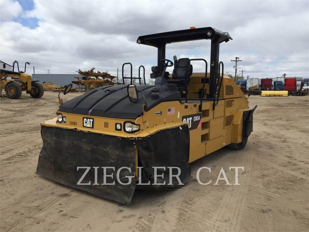 Caterpillar CW34NN, pneumatic tired compactors, Construction