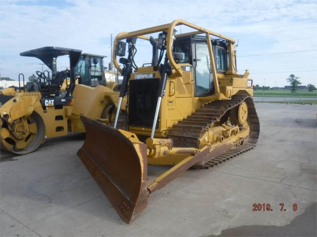 Caterpillar D 6 T, Buldozere, Constructii