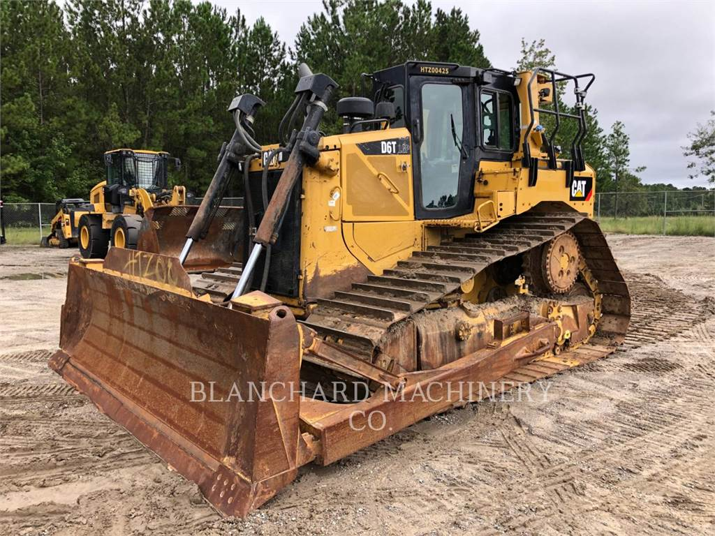 Caterpillar D 6 T LGP, buldozere pe senile, Constructii
