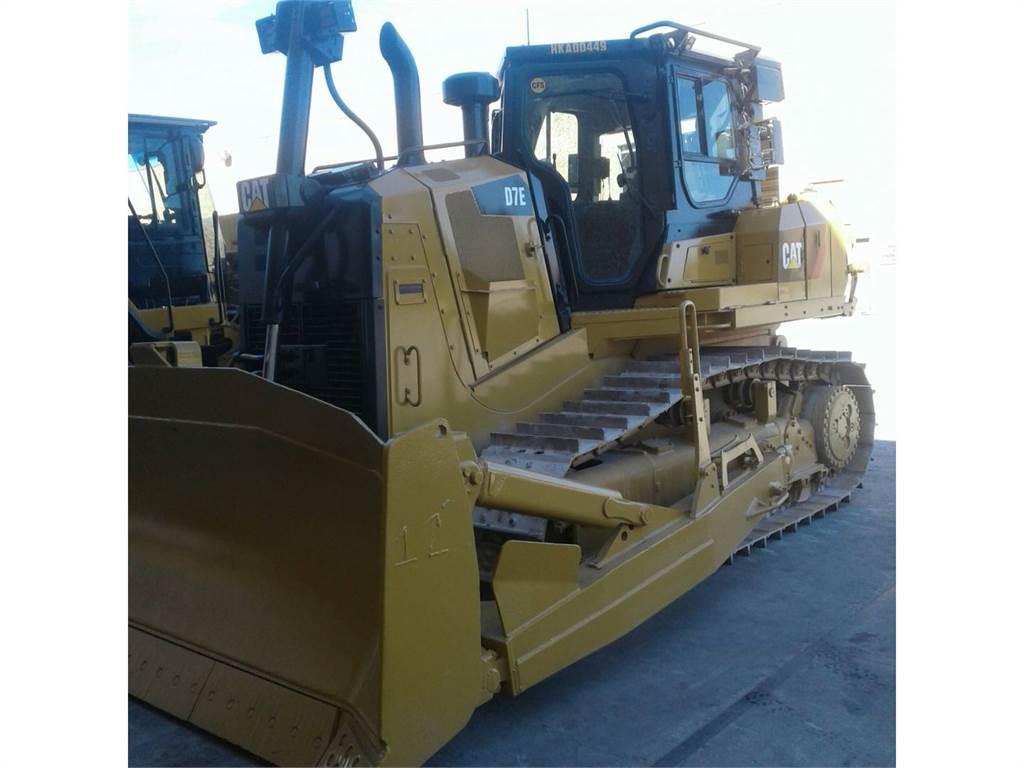Caterpillar D 7 E, Tratores de rastos, Equipamentos Construção