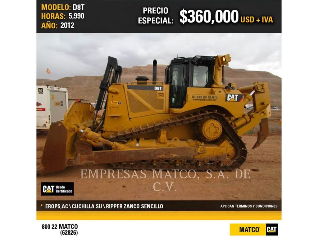 Caterpillar D 8 T, Bulldozers, Attrezzature Da Costruzione