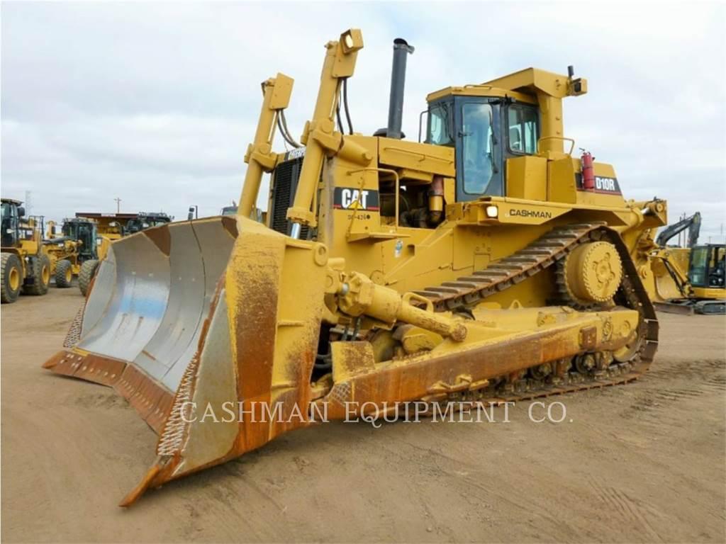 Caterpillar D10R、ブルドーザー、建設