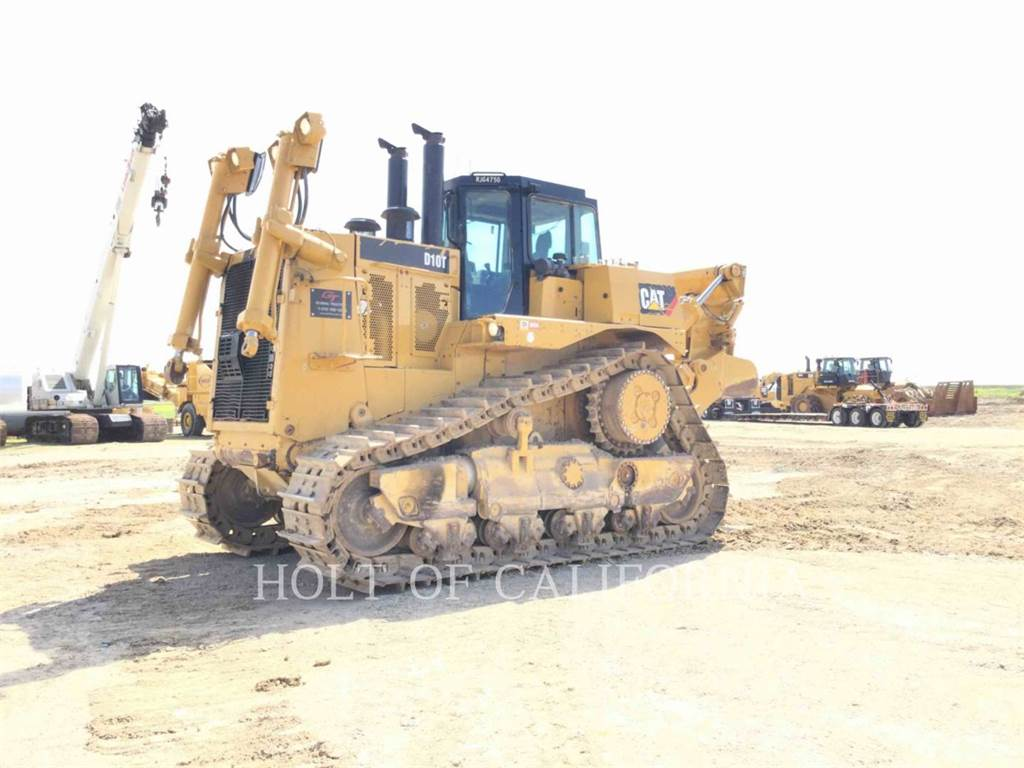 Caterpillar D10T, Buldozere, Constructii
