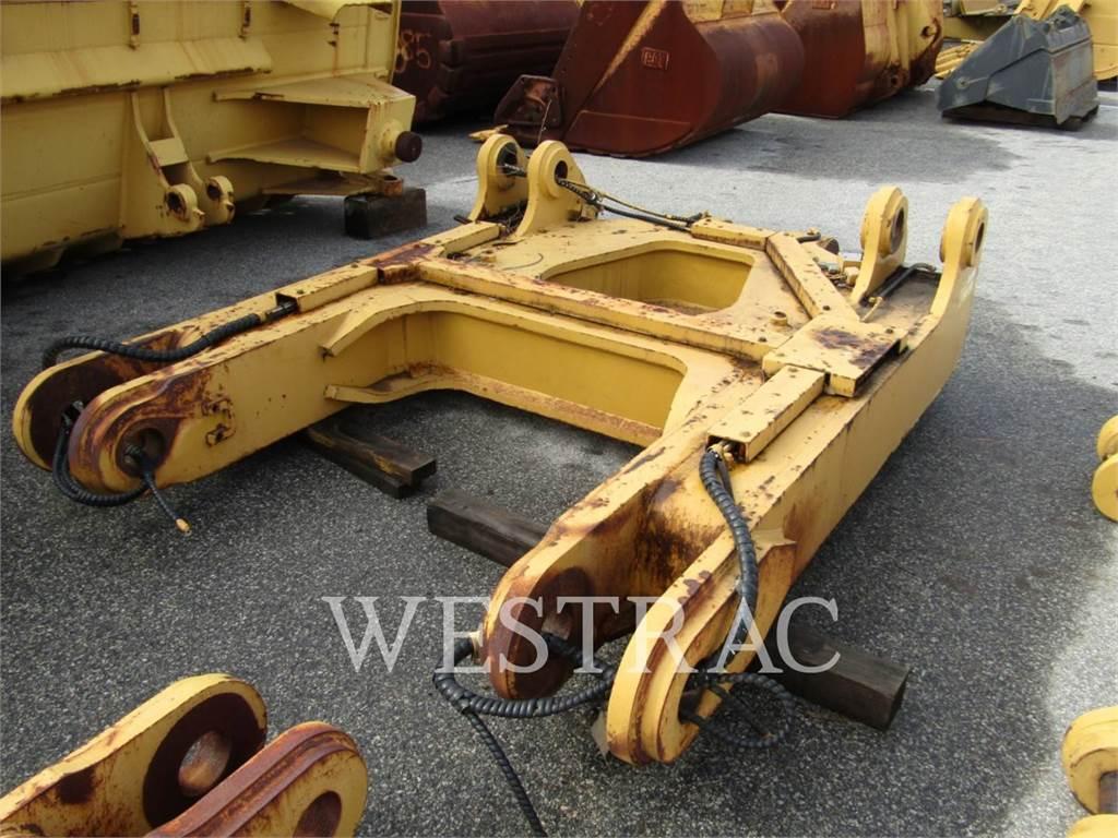 Caterpillar D10T, Rippers, Construction