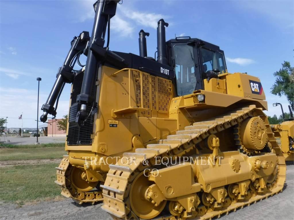Caterpillar D10T, Bulldozers, Construcción