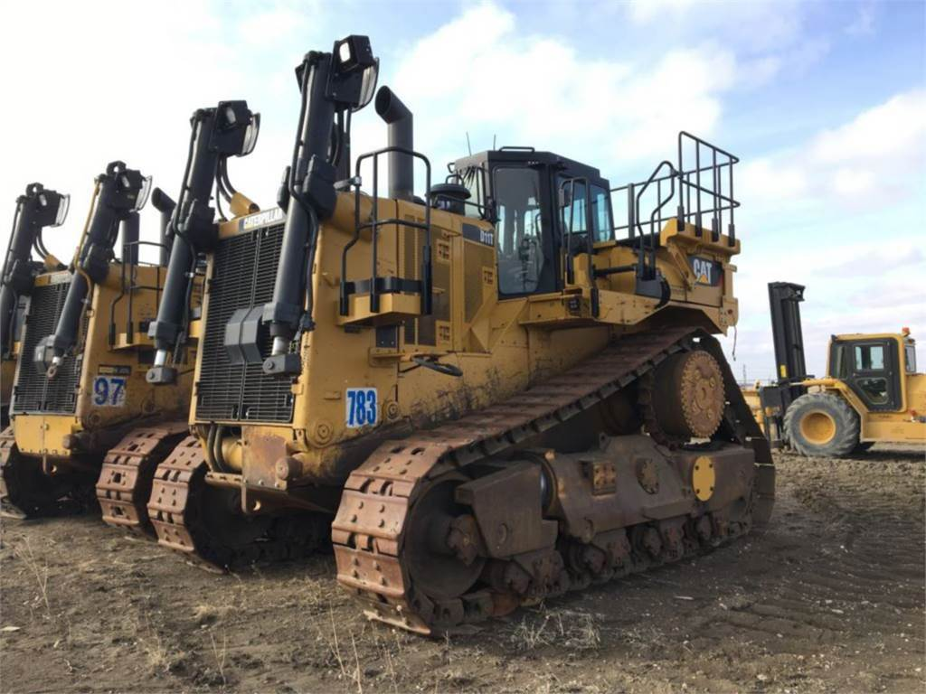 Caterpillar D11T, Dozers, Construction