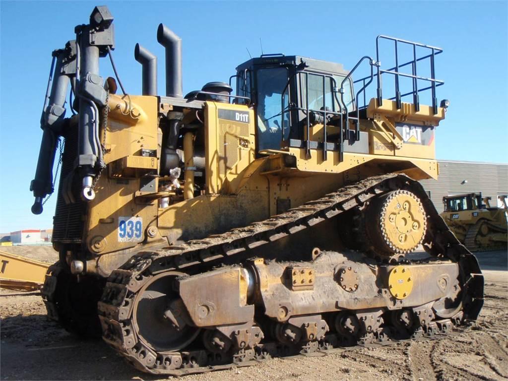 Caterpillar D11T, Bulldozers, Construcción