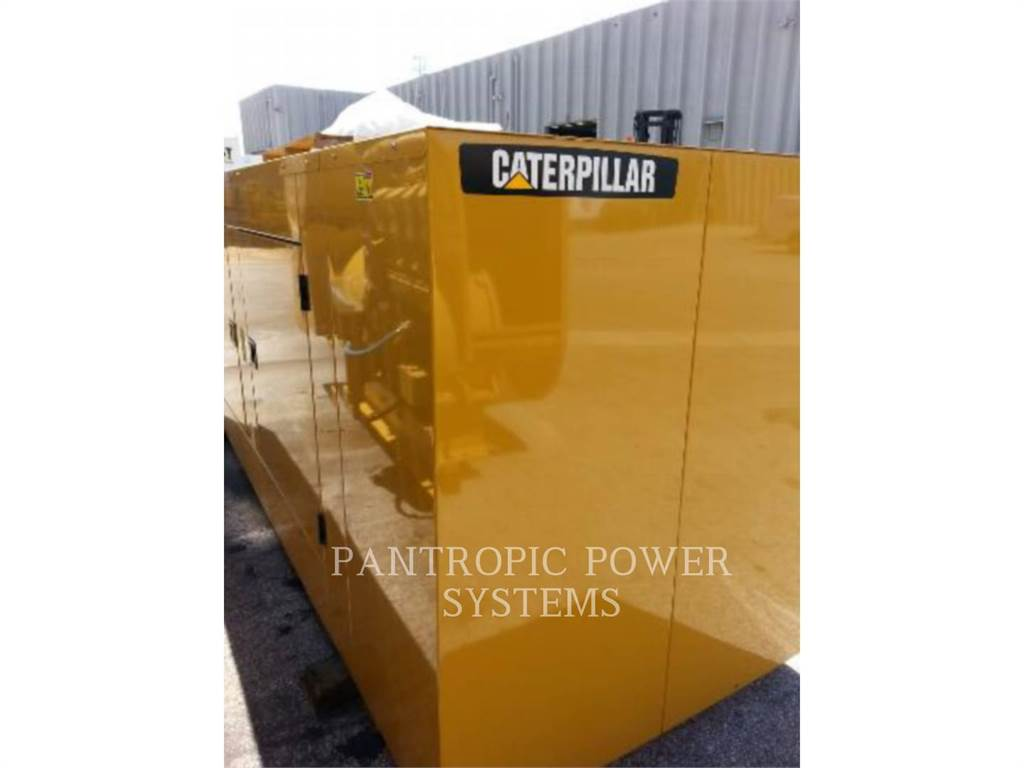 Caterpillar D125 ENCLOSURE, Stationary Generator Sets, Construction