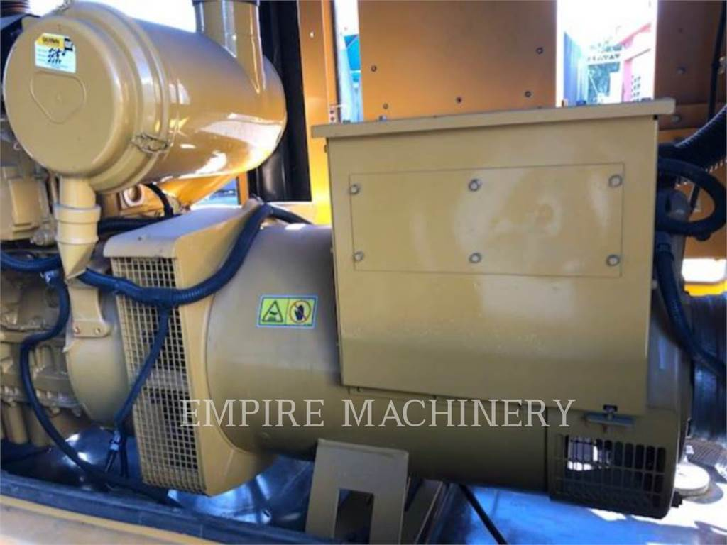 Caterpillar D150, Stationary Generator Sets, Construction