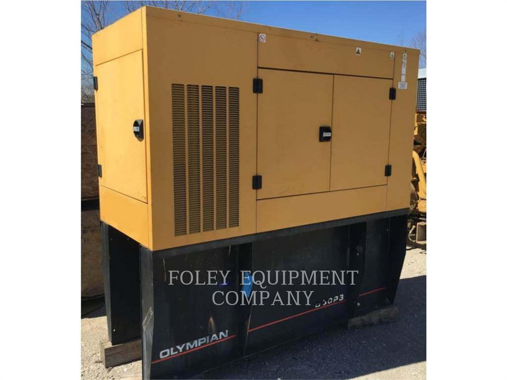 Caterpillar D30-P3EP, Stationary Generator Sets, Construction