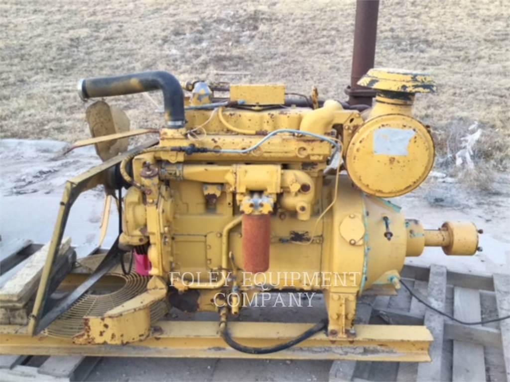 Caterpillar D3304TIN, Industrial engines, Construction