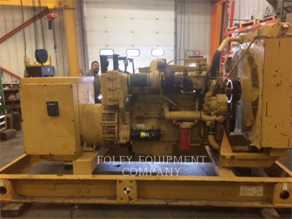 Caterpillar D3406EP, Stationary Generator Sets, Construction