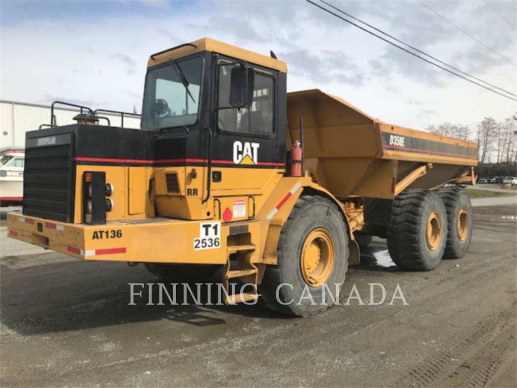 Caterpillar D350E, Articulated Dump Trucks (ADTs), Construction