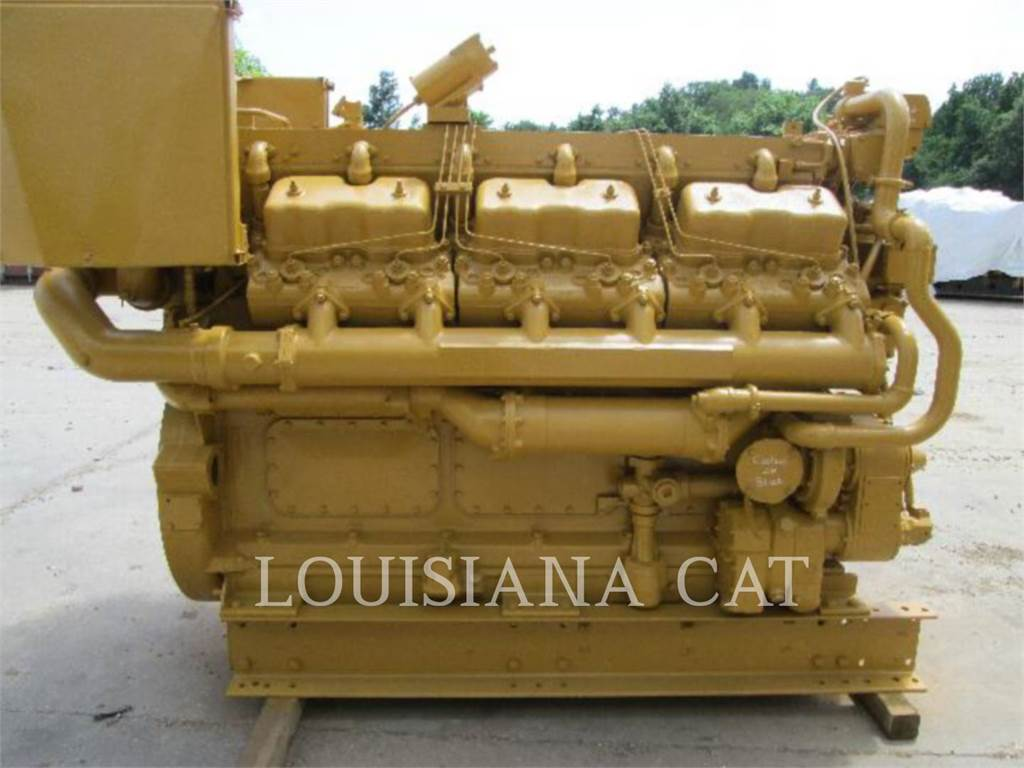 Caterpillar D398, Industrial engines, Construction