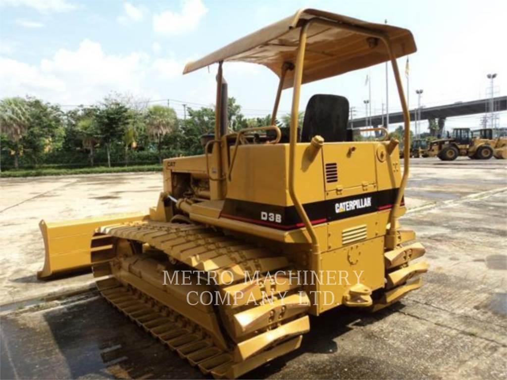 Caterpillar D3BLGP, Planierraupen, Bau-Und Bergbauausrüstung