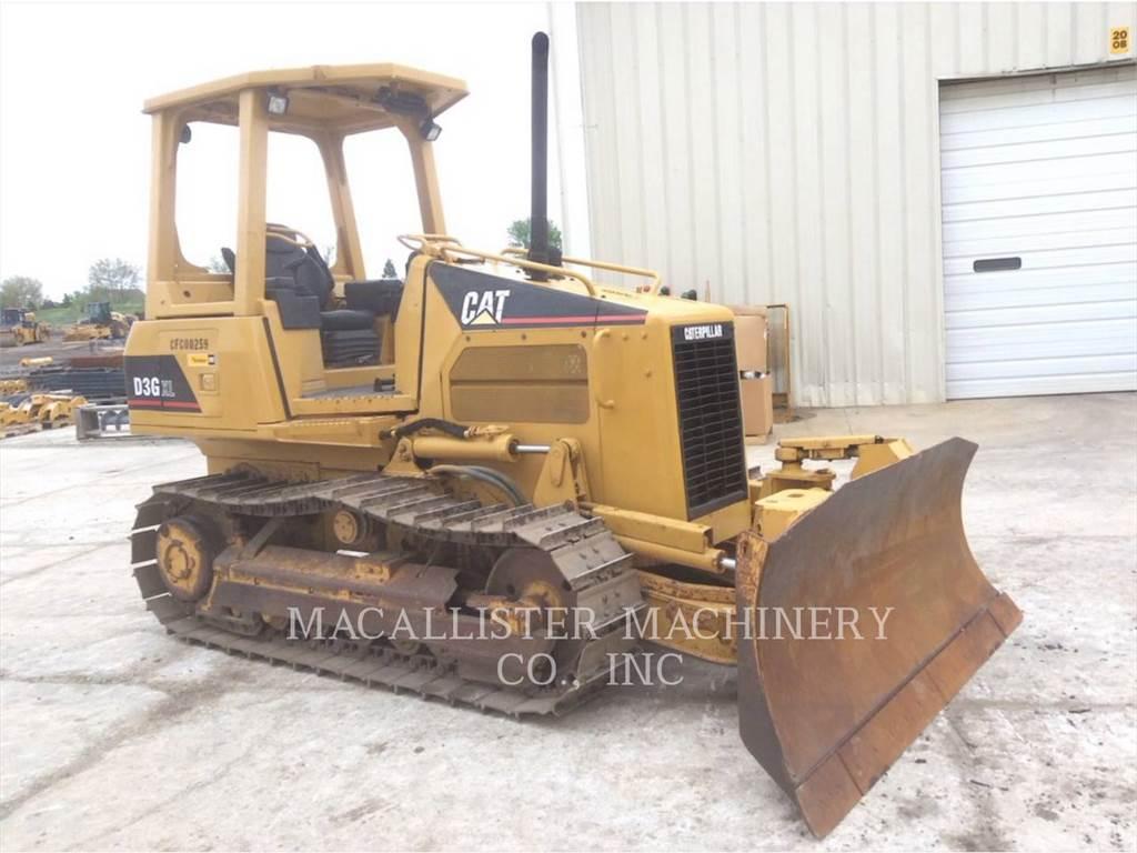 Caterpillar D3G, Crawler dozers, Construction