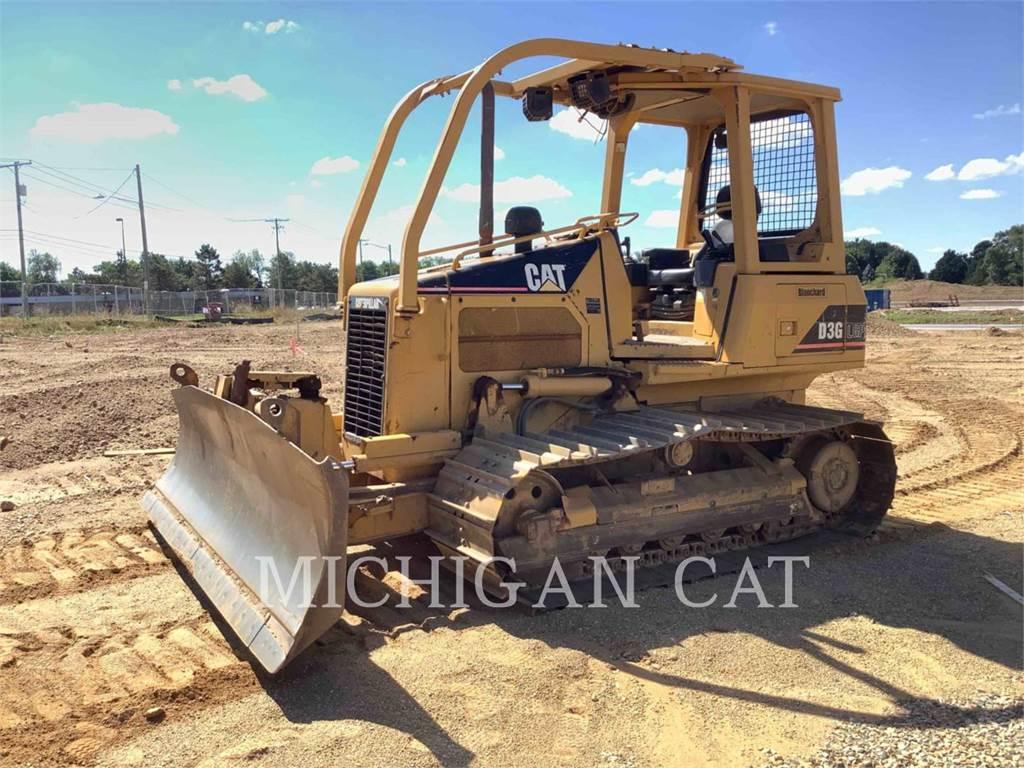 Caterpillar D3GLGP、推土机、建筑设备