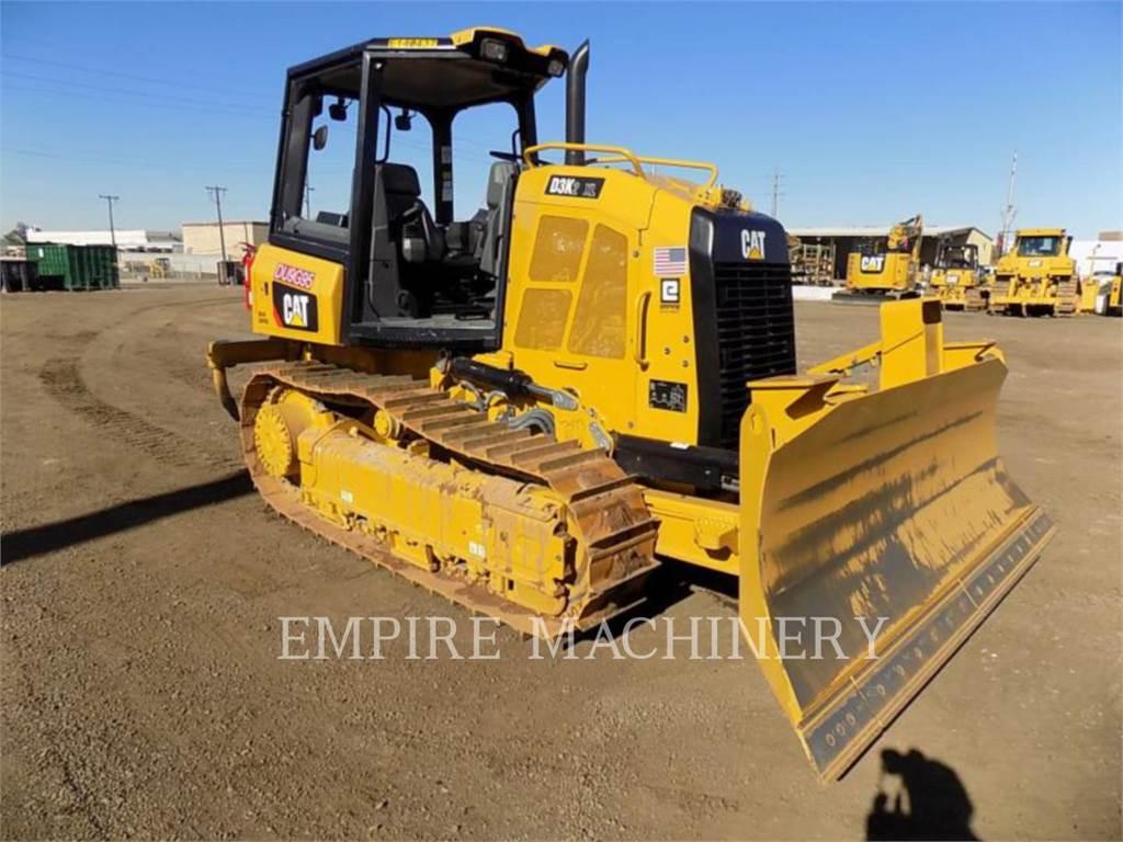 Caterpillar D3K2, Bulldozers, Construcción