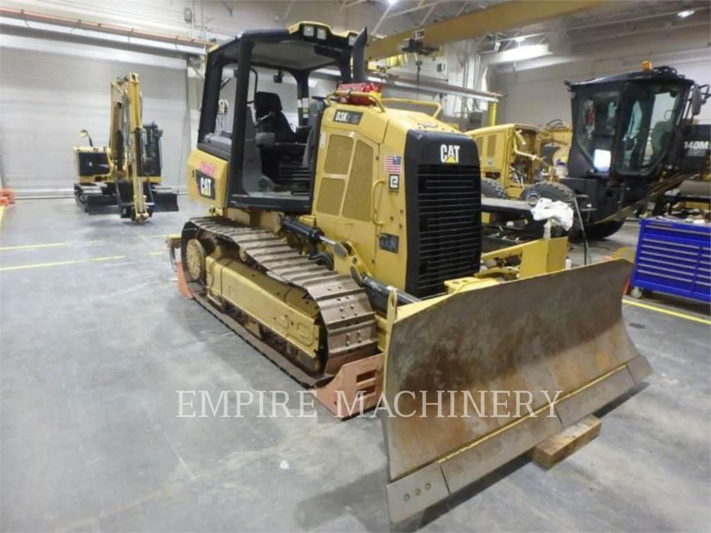 Caterpillar D3K2, Spycharki, Sprzęt budowlany