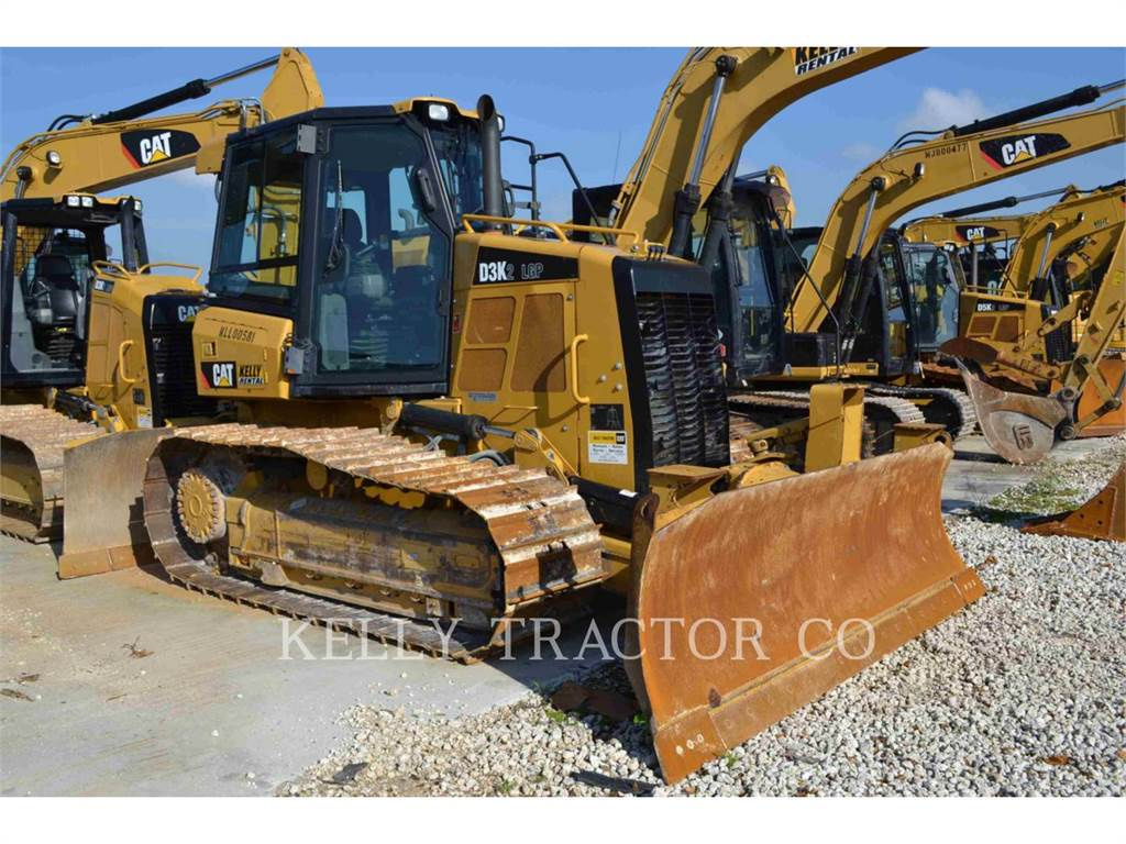 Caterpillar D3K2LGP, Bulldozer, Équipement De Construction